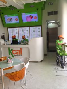 New KCAL Cafe Opens In Business Bay Dubai Welcoming Guests To Experience Healthy And Delicious Fast Food An Inviting Fresh Interior Environment As