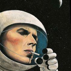 """8 To se mi líbí, 1 komentářů – @decades.observer na Instagramu: """"#Space #DavidBowie"""""""
