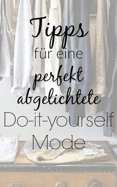 7 Tipps für perfekt abgelichtete DIY-Mode