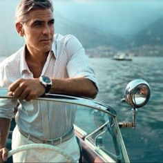 """""""There's an entire generation of men who came of age in the 1980s and '90s — and who helped create and foster the bad old days of casual Fridays — for whom style is a dirty word. But Clooney  reminded the world that a certain kind of effortless, masculine style could take you far. A man among men, indeed."""" by  Esquire"""
