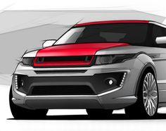 Range Rover Evoque concept