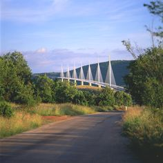 Millau Viaduct by Foster + Partners, a colossal bridge that spans a gorge in southern France