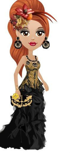 gorgeous gold n black Princess Zelda, Disney Princess, Paper Dolls, Disney Characters, Fictional Characters, That Look, My Style, Mall, Black