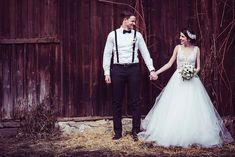 Inspirationen für eine rustikale Scheunenhochzeit von The Perfect Day | Hochzeitsblog - The Little Wedding Corner