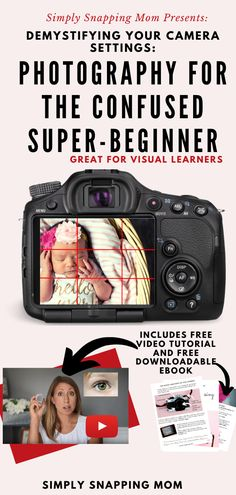 Photography Tips for Beginners - Are you ready to learn exactly how to use your camera? Are you ready to understand your DSLR camera settings and work towards moving from automode to . Dslr Photography Tips, Photography Cheat Sheets, Photography Tips For Beginners, Photography Lessons, Photography Business, Photography Tutorials, Digital Photography, Photography Competitions, Photography Courses