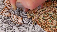 Sam Dreyer Colouring Turtorial w/ Bennett Klein drawing CMSB#4 Video1