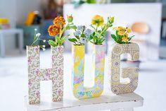 Faites éclore votre créativité ! #NoLimit --#decopatch #deco #decoratif #decoration #decoupage #lettres #letters #hug #calin #fleurs #flower #homedeco #homedecor #home #loisirscreatifs #hobby #hobbycraft #handycraft