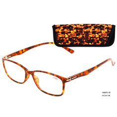 Eso Vision 165070 C2 color orange reading glasses attach pouch with high quality