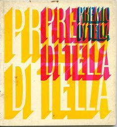 Premio Di Tella 65    Design by Juan Carlos Distefano for the Instituto Di Tella, Buenos Aires 1965