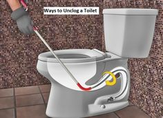 12 Best Toilet Unclog Images Cleaning Hacks Clean House