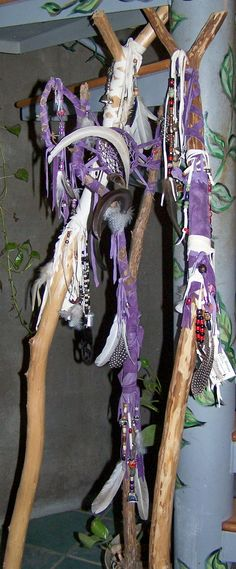 Custom Made Wizard or Fairie Staff (Or walking staff -- if you are not magically inclined)