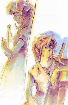 Marin and Link | #Zelda Link's Awakening