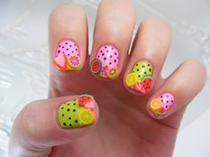 25 Cute Fruit Nails for Spring and Summer Adorable Ideas | Fashion Trends