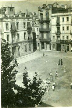 Barcelona, Plaza del Diamante (1934).