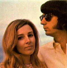 Phyllis and Mike Nesmith