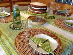 Mesa posta naked cake