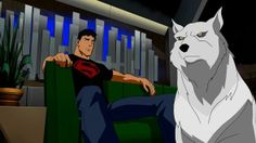 Conner and Wolf from Young Justice. Yes I STILL miss this show!