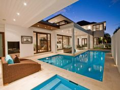 pool in house