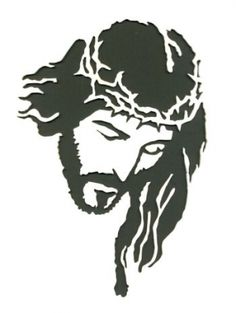 Crown of Thorns Portrait - Scroll Saw Woodworking & Crafts Photo Gallery