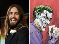 """Jared Leto Will Play The Joker For DC Comics Adaptation """"Suicide Squad"""" http://www.buzzfeed.com/adambvary/suicide-squad-cast-jared-leto-will-smith…"""