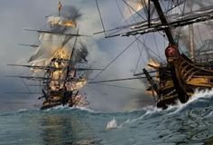 The pirate ship Queen Anne's Revenge reigned havoc on ships during the early 1800s captained by Edward Teach aka Blackbeard