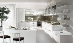 Мебель от производителя. Комплект в кухню Stosa (Италия) - подробная ...