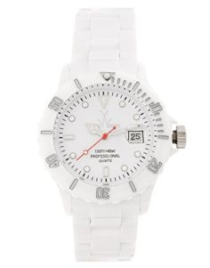 White Toy Watch