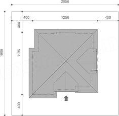 Usytuowanie projektu Opałek III N na działce House Design, Houses, Opal, Architecture Design, House Plans, Home Design, Design Homes