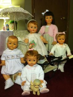 Vintage Ideal playpal dolls❤