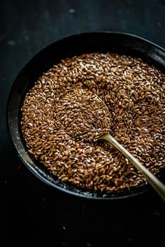 Flax Seeds known as the world's healthiest food ingredient.