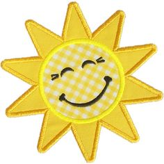 Our Happy Applique Sun by HappyApplique.com