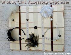 DIY Shabby Chic Acce