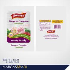 Embalagem – Jimenes Alimentos > Desenvolvimento de embalagem para empresa Jimenes Alimentos < #embalagem #marcasbrasil #agenciamkt #publicidadeamericana