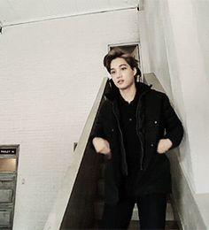 EXO | Sehun and Kai (gif) lol