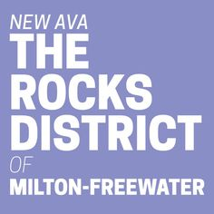 Check it out Milton-Freewater is now part of an AVA! #rocksdistrict #ava #oregon http://prn.to/1f4b9eU  #miltonfreewater #oregon #wine #oregonwine