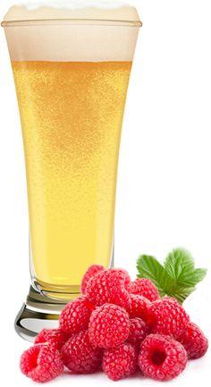 Raspberry Blonde Ale Homebrew Recipe (Partial Mash) | E. C. Kraus