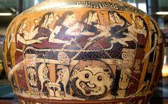 Mourning of Akhilleus Louvre E643 - Achille — Wikipédia