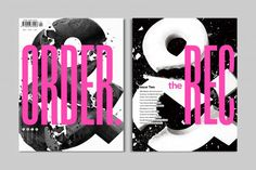 The Recorder (Issue Magazine Cover Design, Magazine Art, Sign Writing, Visual Diary, New Print, Art Director, Editorial Design, Typography, Design Inspiration