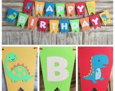 Dinosaur Cupcake Toppers Dinosaur Birthday by EricasCrafties