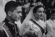 زفاف الملك حسين من الملكة دينا