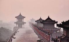smog in Xian, China