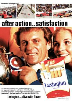 Lexington cigarette advert from South Africa Vintage Advertisements, Vintage Ads, The Old Days, My Youth, Sweet Memories, Childhood Memories, South Africa, Growing Up, The Past