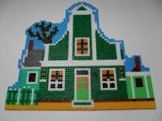 House hama perler beads by Madelon