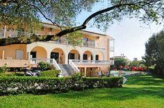 Hotel Primavera, Dassia, Corfu, Grecia Creta, Floor To Ceiling Windows, Corfu, Room Set, Big And Beautiful, Hotel Offers, Beautiful Gardens, Swimming Pools, Mansions