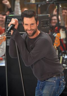 Singer Adam Levine of the band Maroon 5 performs on NBC's 'The Today Show' on June 14, 2013 in New York, New York.