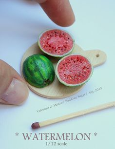 Valentina Gaia Manzo - PinkCute Sugar Miniatures: ➽ Miniature food
