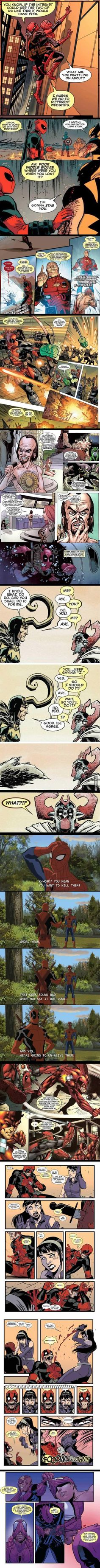Resumen de Deadpool, parte 2