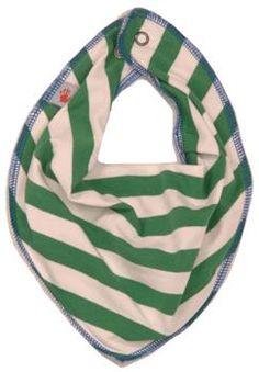 Molo striped scarf bib from Baby Goes Retro