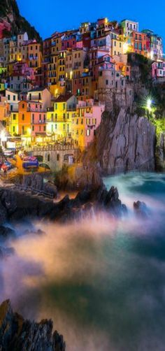 The stunning coastline of Cinque Terre, Italy by Kevin McNeal