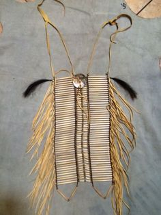 LRG Indian Breastplate Bone Pipe Beaded Indian Dancer Costume Native American   eBay
